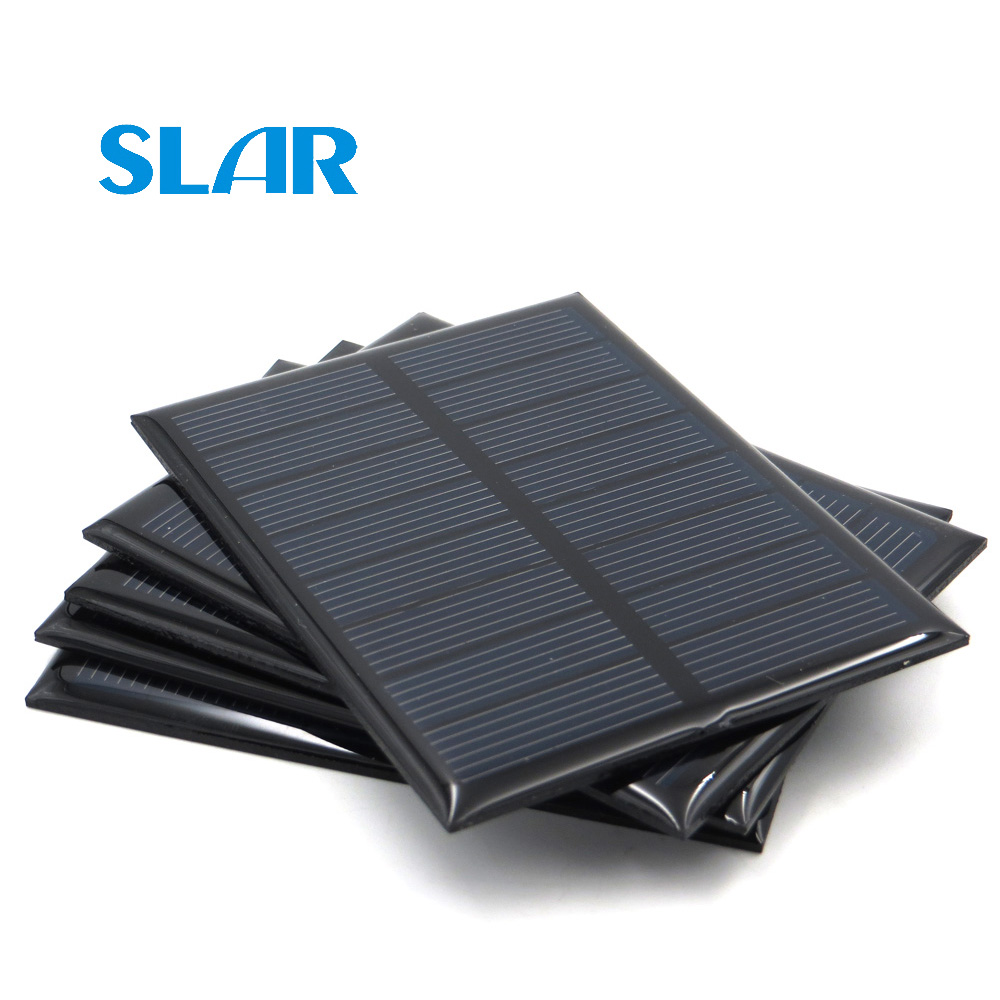 5V 5.5V Solar Panel 80mA 100mA 150mA 160mA 200mA 250mA 300mA 500mA 840mA Mini Solar Battery Cell Phone Charger Portable image