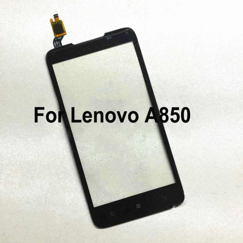 For Lenovo A850 LenovoA850 Touch Panel Screen Digitizer Glass Sensor Touchscreen Touch Panel With Flex Cable