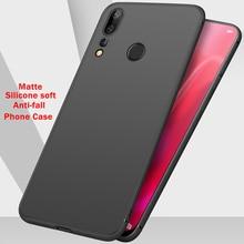Luxury Soft TPU Frosted Phone Case For Huawei Nova5 Nova 4E 3E Matte Anti-fall Back Cover Shell Wholesale