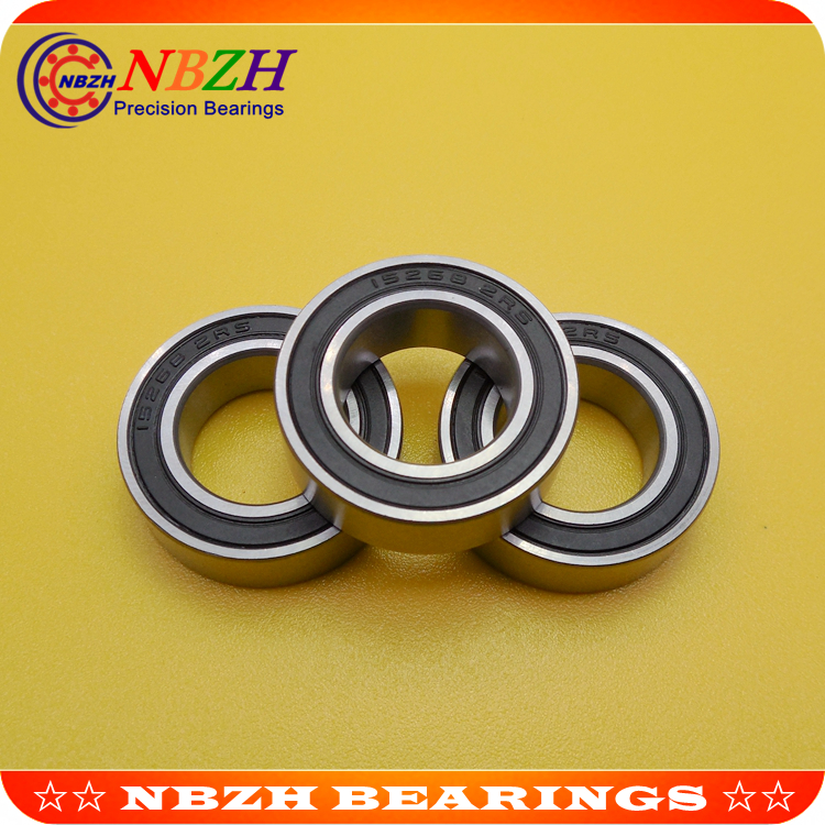 2PCS 15267-2RS Ball Bearing Rubber Sealed For Rear Hub Bicycle Bike 15x26x7mm