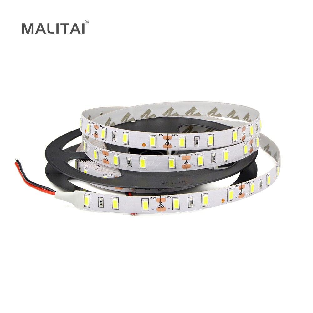 Ip65 Waterproof 5m Led Strip Light Ribbon 60leds/m Smd 5630 300 Leds Lamp Tape String For Indoor Outdoor Lighting A Plastic Case Is Compartmentalized For Safe Storage Dc12v Ip20