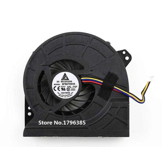 CPU del Ordenador Portátil ventilador de Refrigeración para ASUS G74 G74S P/N KSB06105HB BFB0705HA