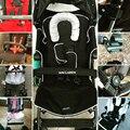 Maclaren Cochecito de Bebé Apoyabrazos Apoyabrazos Barra Parachoques Carros de Bebé Accesorio General Cochecito de Bebé Accesorios Del Manillar Negro y Gris