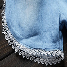 BibiCola Infant toddler clothes children summer baby girls clothing sets casual 2pcs flower lace clothes sets girls summer set