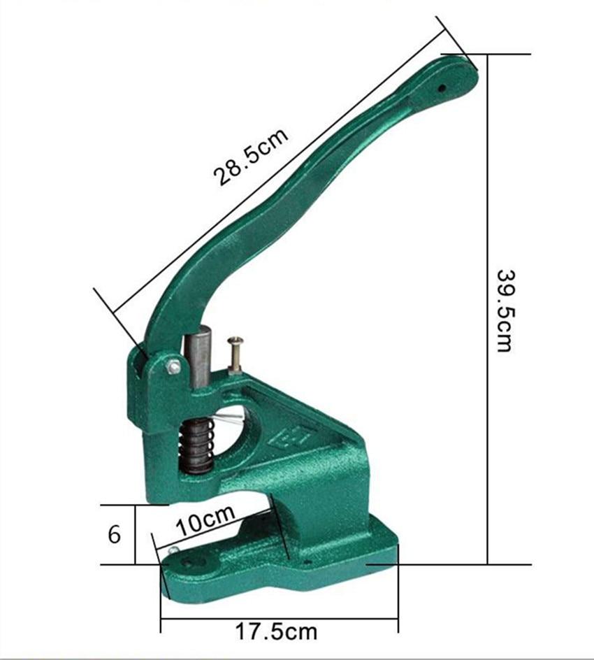 dk93 handmade manual press machine stud rivet setter machine dies tool hand press grommet snap. Black Bedroom Furniture Sets. Home Design Ideas