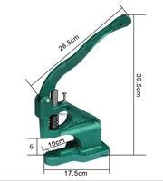 DK93 Handmade Manual Press Machine Stud Rivet Setter Machine Dies Tool Hand Press Grommet Snap Machine for For Banner Bags Shoes