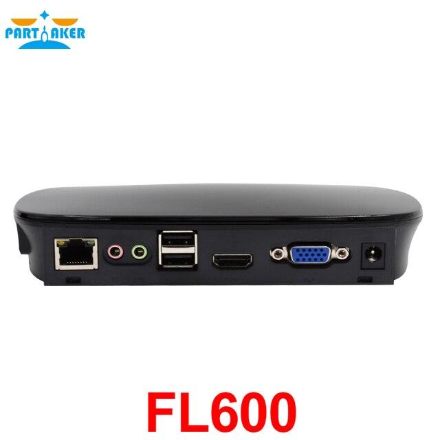 Partaker Thin Client FL600 with Linux OS Cloud Terminal RDP 8.0 Quad core 1.6Ghz Processor