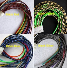 3MM 1/8″ Tight Braided PET Expandable Sleeving Cable Wire Sheath Free Shipping – 5 Meters