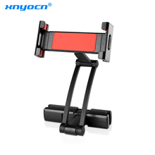 цена на Xnyocn Aluminum Tablet Car Holder For iPad Air Mini 2 3 4 Pro 12.9 Back Seat Headrest 5-13 Inch Tablet Phone Stand for Iphone XS