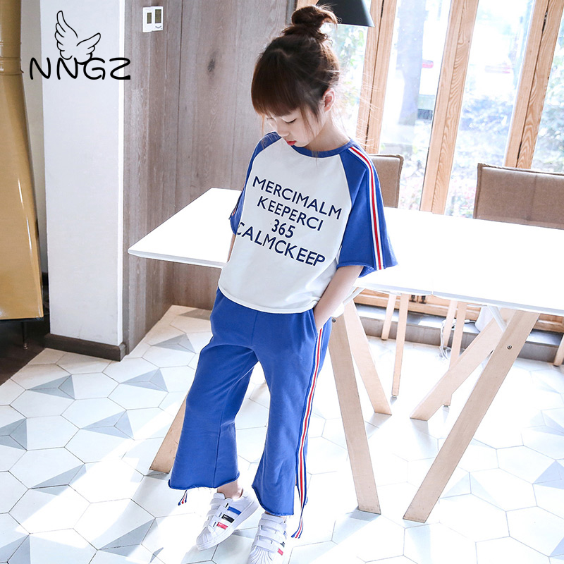 NNGZ Women Clothes Units Children Women Tracksuits Sport Go well with Spring Autumn Garments Kids Informal Set Clothes Units, Low cost Clothes Units, NNGZ Women Clothes Units Children Women...