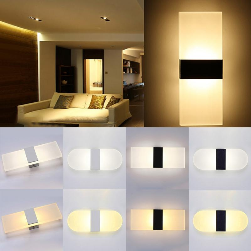 Us 4 62 6 Off 14 6cm Led Wall Lamp Piano Keys Push On Light For Living Room Bathroom Bedroom Aisle Background Decorativ Night In