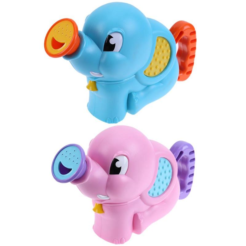 Baby Shower Bath Toys for Children Kids Bathroom Swimming Pool Water Spray Elephant Pattern Bath Pump Beach Water Toys Boy Gifts
