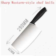 Free Shipping MIKALA Kitchen Stainless Steel Japanese Style Chef Knife Santoku Cutting Knife Meat Fruit Vegetable Knives Cleaver