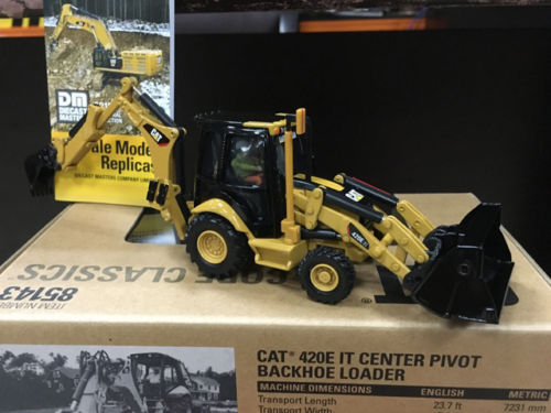 Cat, 420E IT Center Pivot Backhoe Loader, 1/50 Scale, By DieCast Masters, #85143 gt2556s 711736 5026s 711736 2674a226 2674a227 turbo for perkin massey ferguson 5455 tractor 4 4l loader backhoe 420d it vista 4