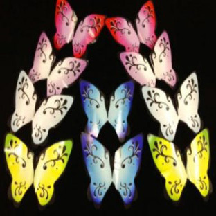 Free shipping Magic butterfly 10pcs/set butterflies from empty hand magic tricks magic props