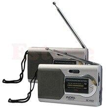 цена на 1Pc Universal Slim AM/FM Mini Radio World Receiver Stereo Speakers MP3 Music Player