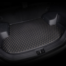 лучшая цена HeXinYan Custom Car Trunk Mats for Skoda all models superb fabia octavia rapid kodiaq yeti KAROQ KAMIQ auto accessories styling