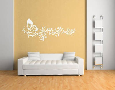 Beautiful 3D Butterfly Wall Sticker Fashion Black White Red Brown ...
