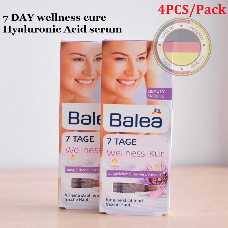 4PCS Germany Balea 7DAY wellness cure Hyaluronic Acid serum Beauty Effect LiftingTreatment Face Essence Moisturizing injection