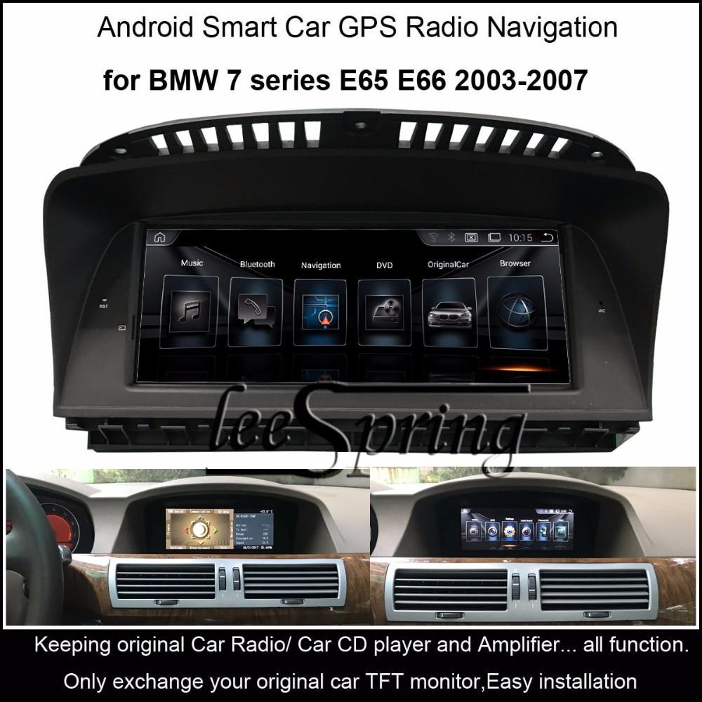 8.8 inch Car Multimedia Player for BMW 7 series E65 E66 2003-2007 GPS Navigation MP5 Bluetooth Wifi