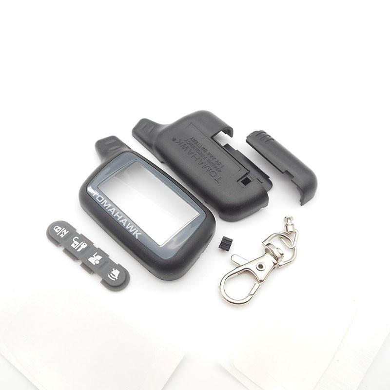 Томагавк X5 чехол Брелок для русской версии Томагавк X5 ЖК-дисплей пульта дистанционного управления Автоматическая сигнализация