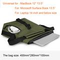 """Laptop bag for MacBook 11""""12""""13.3"""" handbag shoulder bag protective pouch tablet Notebook bag for Microsoft  Surface Book 13.5"""""""