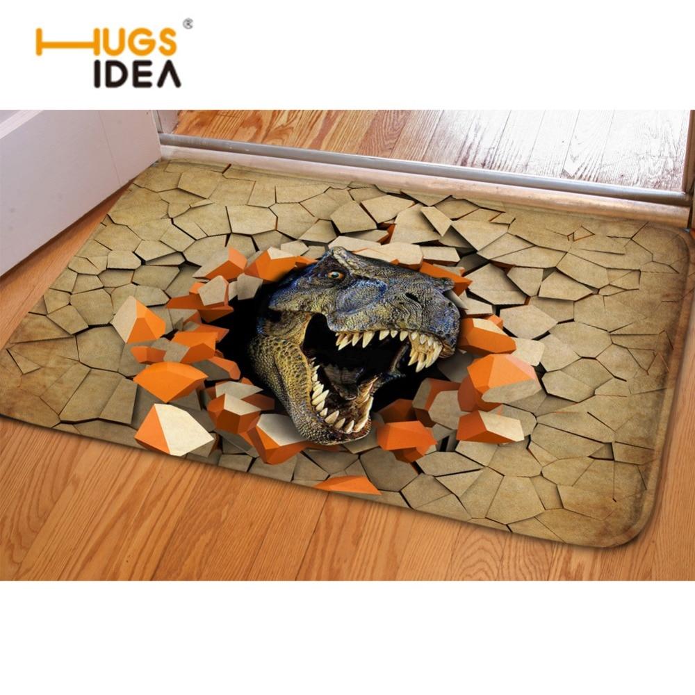 hugsidea tapetes para casa cool 3d animal dinosaur soft. Black Bedroom Furniture Sets. Home Design Ideas