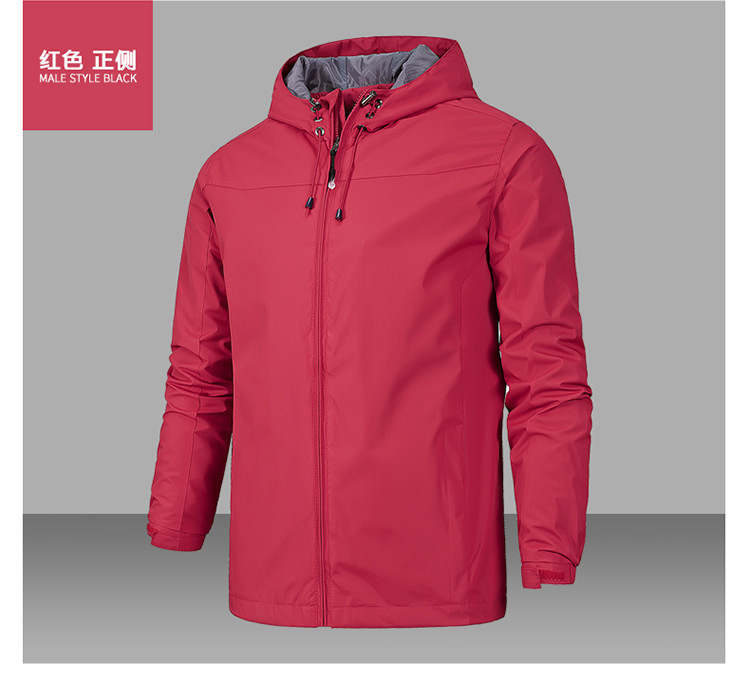 Spring Autumn Mens Softshell Hiking Jacket Male Outdoor Camping Waterproof Coat