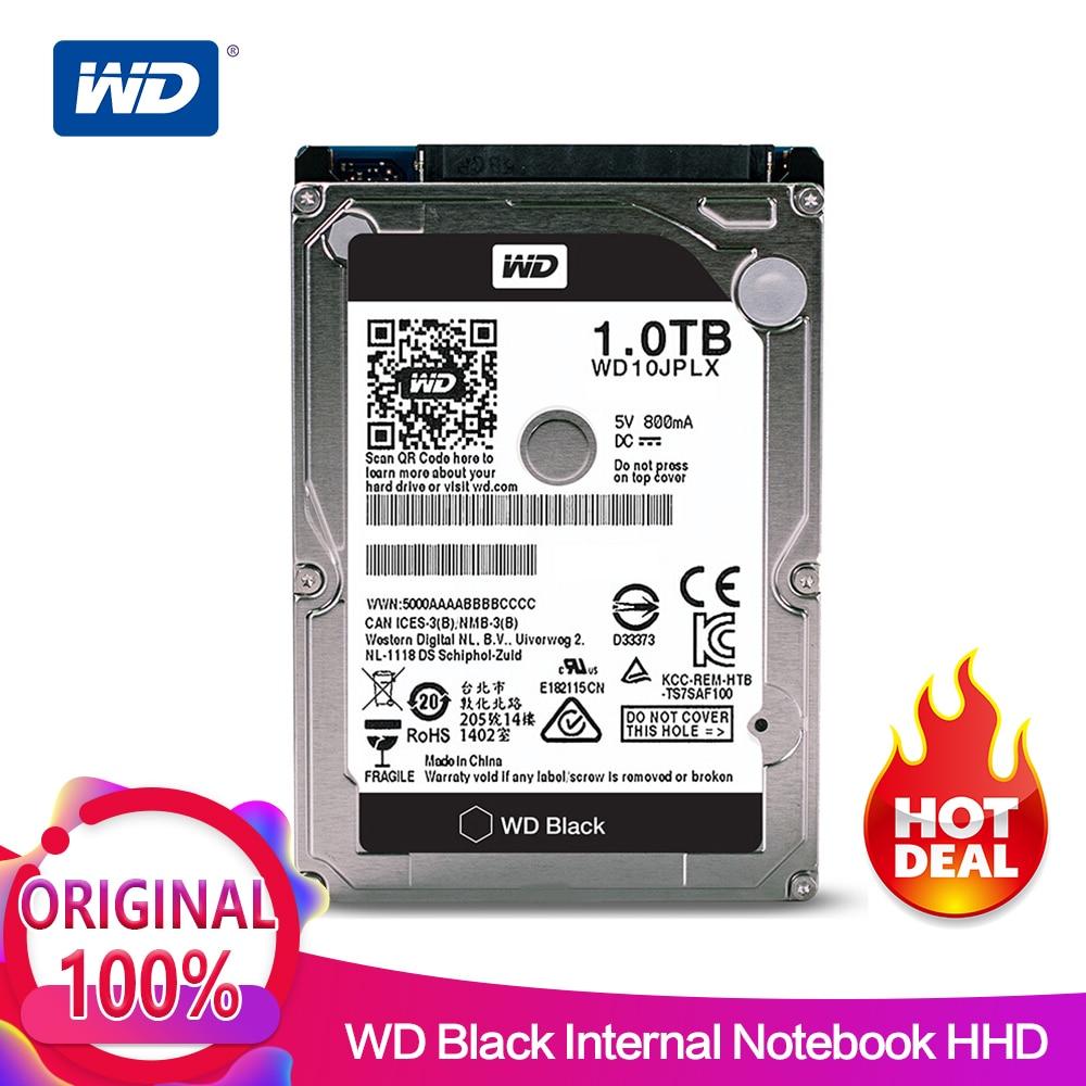 все цены на WD 1TB Black 2.5'' HDD HD SATA III Internal Hard Disk Drive 1000Gb Harddisk for Notebook Laptop 9.5mm 7200 RPM WD10JPLX