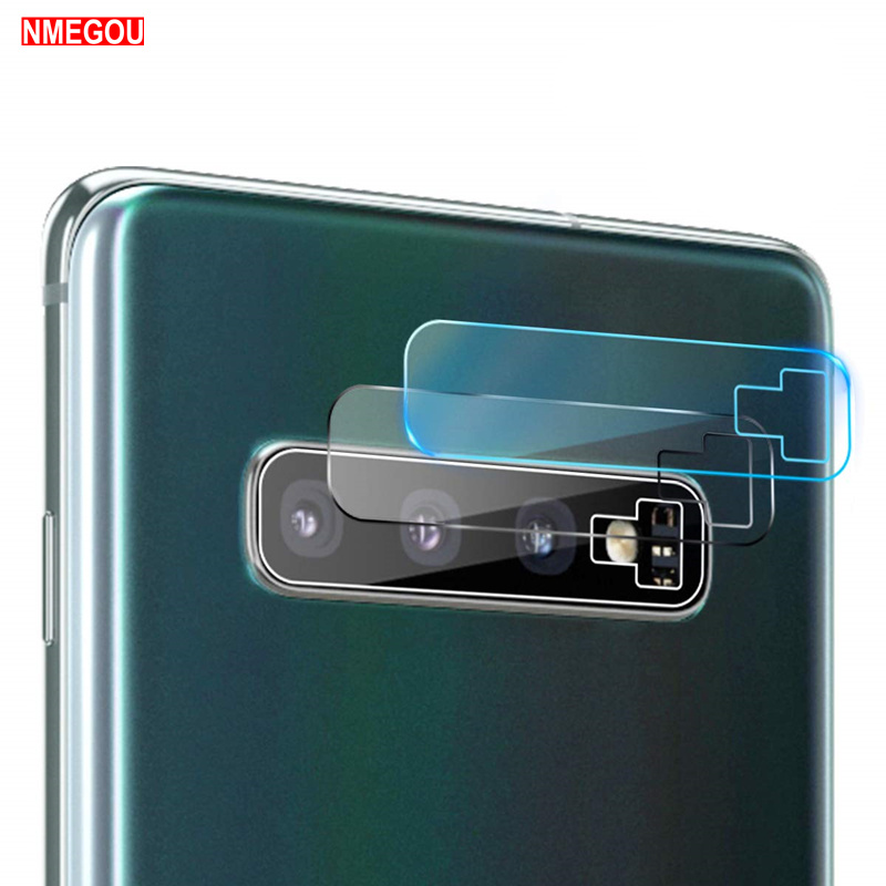 Tempered Glass Protector Full Cover for <font><b>Samsung</b></font> Galaxy <font><b>S8</b></font> S9 S10 <font><b>Plus</b></font> S10+ S10e Note 9 Back Case Camera Lens Screen Accessories image