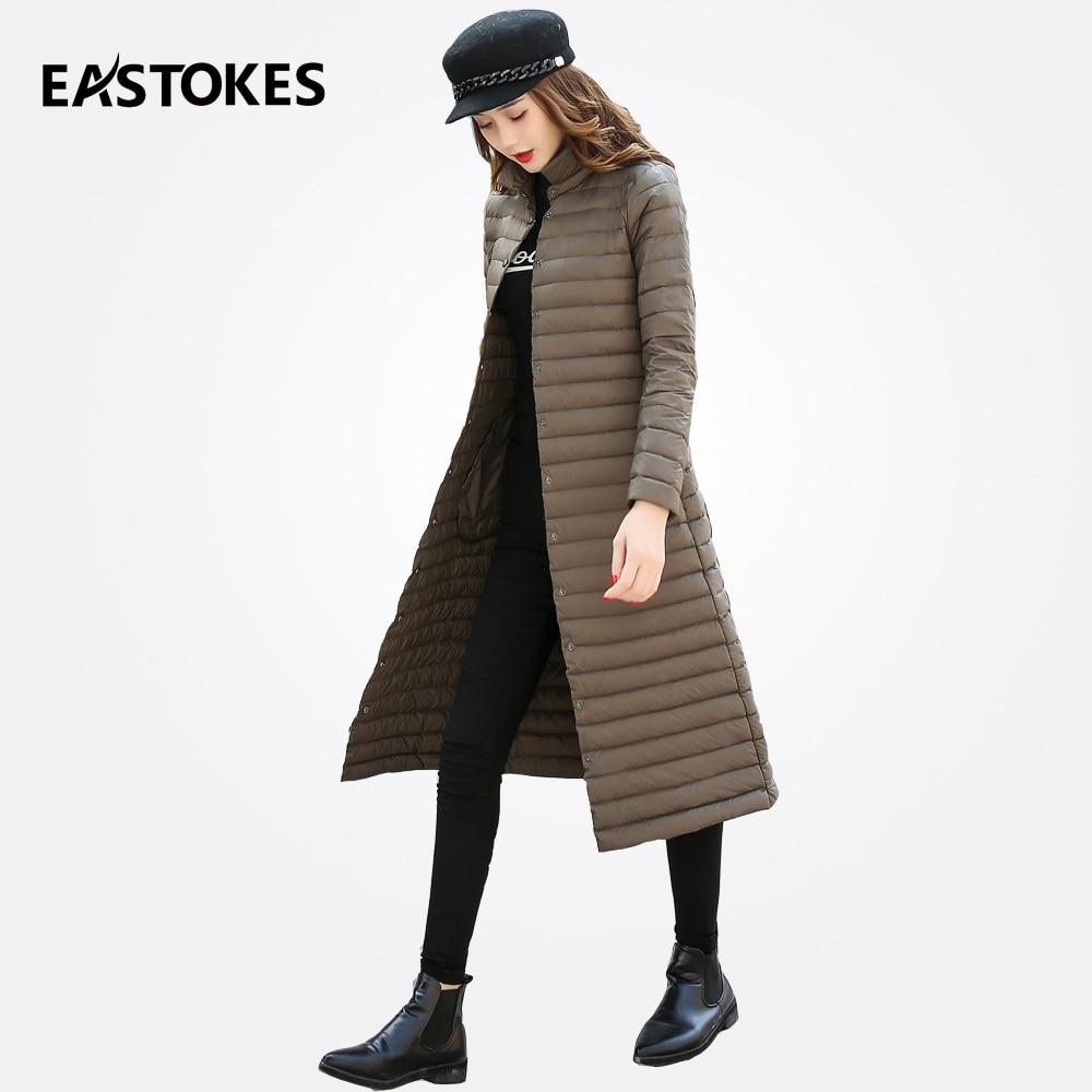 232e3b73 EASTOKES Longline Women Coats in Solid Colour Ladies Down Jackets ...