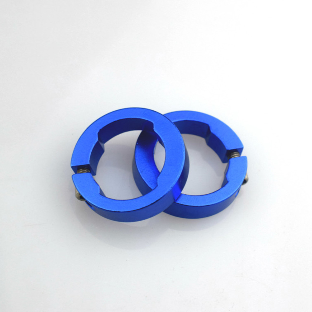 Replacement Fashionable For Bicycle Grips Aluminum Alloy Durable Stable Bar End Round Multi Colored Bike Parts Lock Rings 8mm Bicycle Grips     - title=