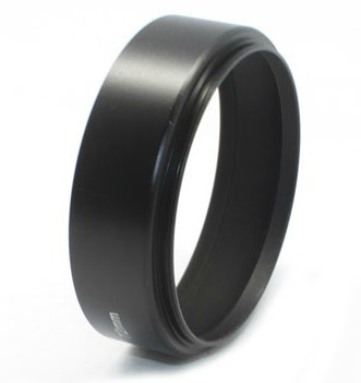 10pcs/lot 40.5 49 52 55 58 62 67 72 77mm camera Metal LENS HOOD for canon nikon lens  with tracking number