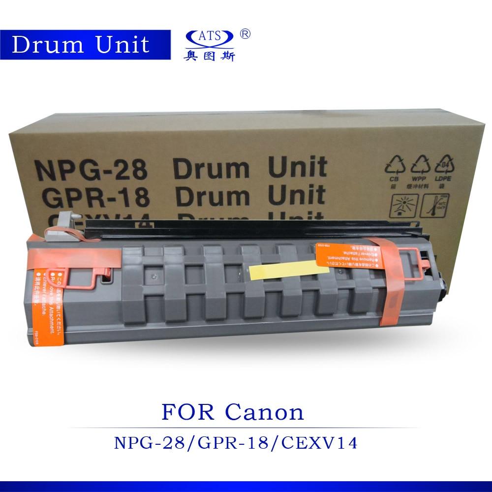 NPG-28 GPR-18 C-EXV14 Drum Unit For IR 2016 2116 2020 2420 Copier Parts Photocopy machine IR2016 IR2116 IR2020 high quanlity photocopy machine copier document feeder for minolta bh350 copier parts bh350 document feeder