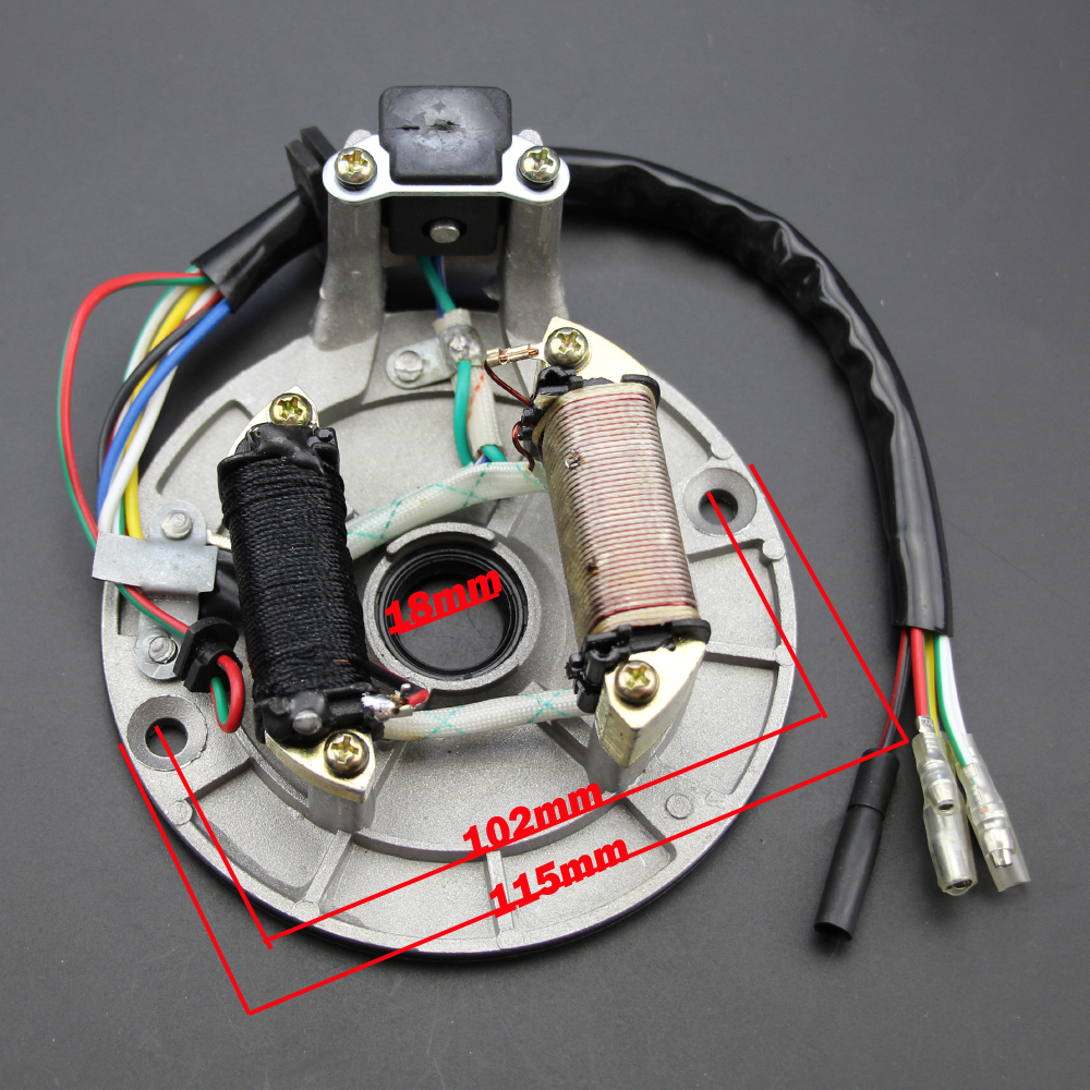Full Wiring Harness Loom Ignition Coil Regulator Cdi Kill Switch Posh C7hsa Spark Plug 150cc 200cc 250cc Atv Quad Bike New In Motorbike Ingition From Automobiles