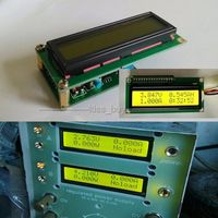 Dual Display LCD Multimeter Module Voltage Current Power Capacity Resistance Time Mete AH Coulomb Meter Battery