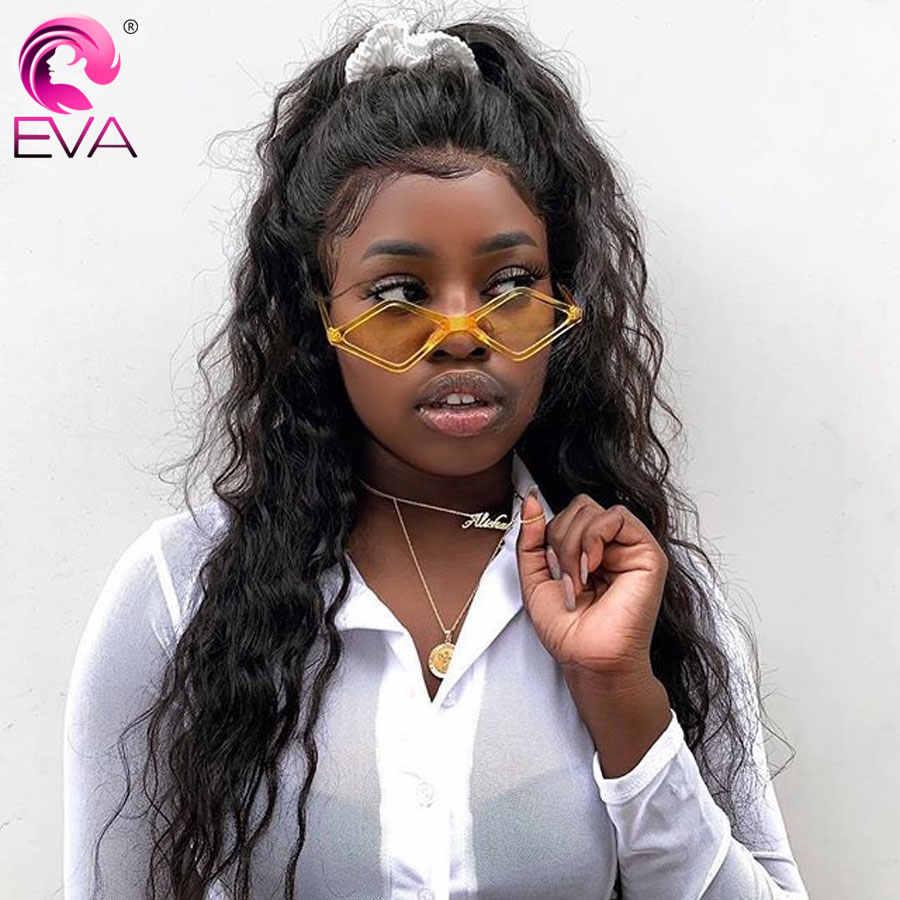 Эва волос 180% плотность 360 кружевных фронтальных париков для женщин кружева передние человеческие волосы парики предварительно сорвал с Детские Волосы бразильские волосы Remy