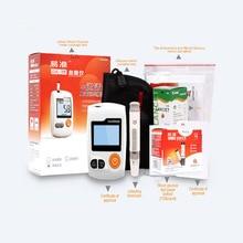 Blood Glucose Monitor & Sugar Detection (100 pcs Test Strips +100 pcs Lancets Needles)