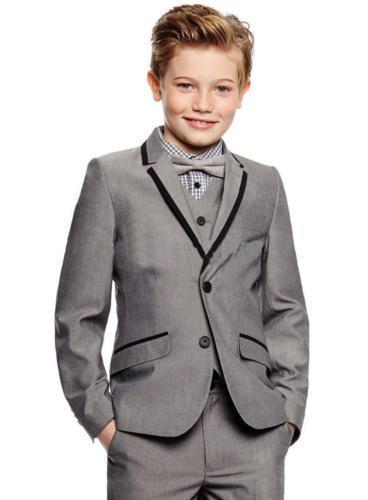 3-1            2019 Newest Boys Wedding Suits Kids Groom Tuxedos Children Suits Party Suits