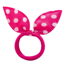 10 Pcs/Set Ribbon Dot Gum Hair  Girls Hair Ornaments Elastic Ring Rubber Random Color!!!  Children  Wear Braiders