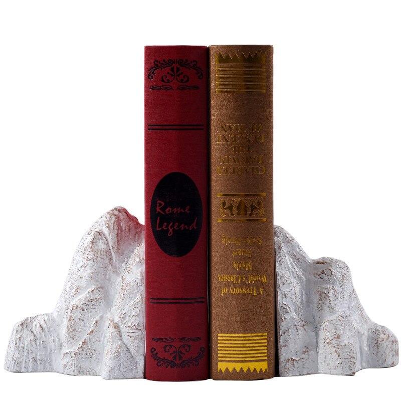 Personnalité créative résine Rockery livre fichier créatif maison salon salle d'étude chinois ornement décor M1484