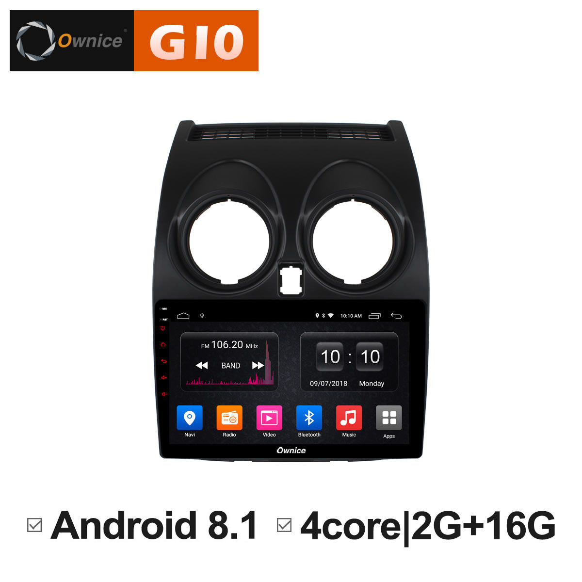 Android 8.1 Unit Intelligent Car radio stereo DVD Multimedia player for Nissan Qashqai 2007 2009 2010 2011 2012 GPS Navigator PC for mazda 6 ruiyi ultra 2008 2009 2010 2011 2012 android unit radio stereo multimedia player 1 2 din dvd gps navigator carplay