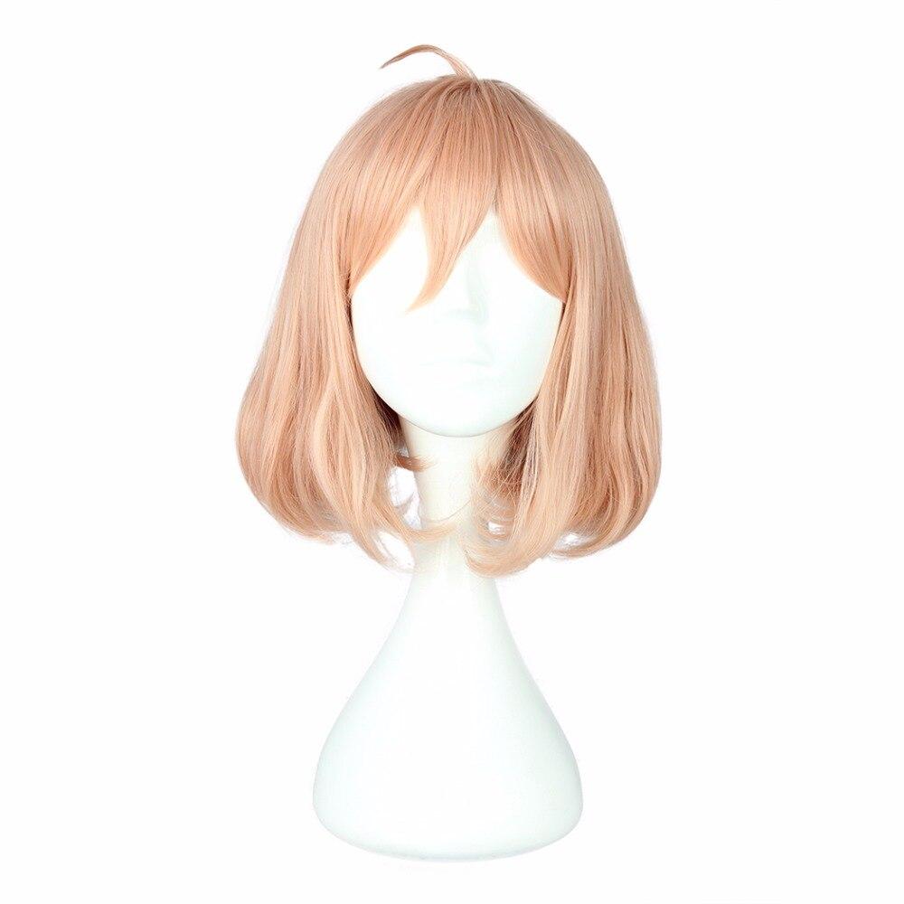 Ausdauernd Mcoser 35 Cm Synthetische Kurze Lockige Rosa Farbe Cosplay Perücke 100% Hochtemperaturfaser Haar Wig-089a Kunsthaarperücken Haarverlängerung Und Perücken