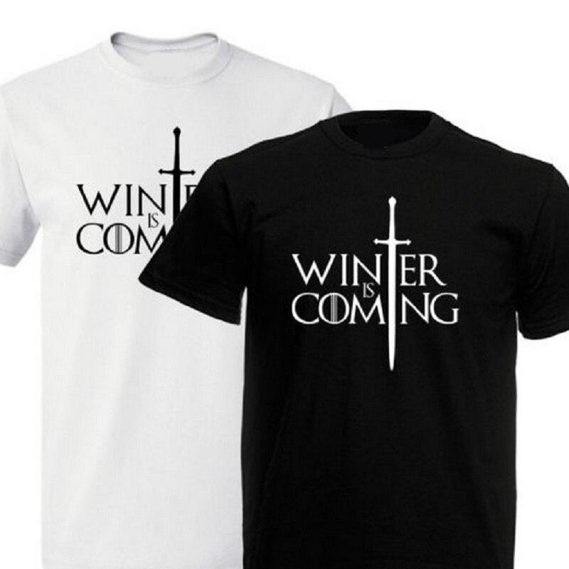 Game of thrones inspired men t shirt summer new design for Game of thrones dress shirt