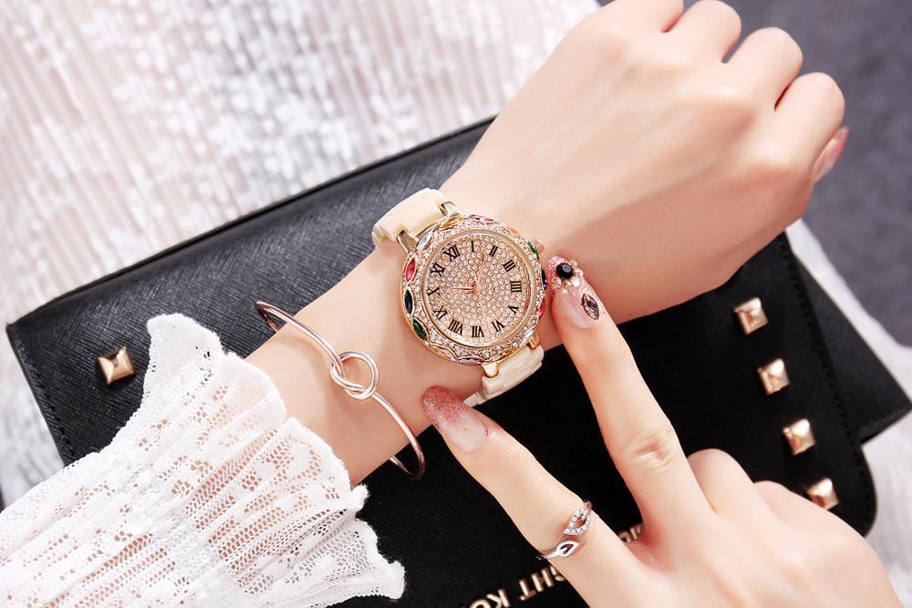 Top Brand 2019 Luxury Diamond Wrist Hand Crystal Fashion Quartz Watch For Women Stylish Ladies Girls Watches Female WristwatchTop Brand 2019 Luxury Diamond Wrist Hand Crystal Fashion Quartz Watch For Women Stylish Ladies Girls Watches Female Wristwatch
