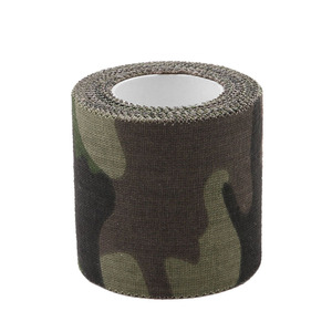 Image 3 - 5 センチメートル x 4.5 メートルステルステープ陸軍迷彩屋外狩猟撮影ツールサイクリングテープ防水ラップ丈夫な迷彩テープ