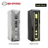 NEW Original Ehpro Cold Steel TC Box MOD Max 200W Output E cigarette Vaping Mod Type C USB Quick Charge Vape Mod with 510 Thread