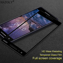 Glass For Nokia 2.1 Tempered Screen Protector Full Cover 2 2018 Film
