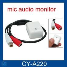 6-12V Audio Pickup Recording Surveillance Sound Monitor for CCTV Camera Mic