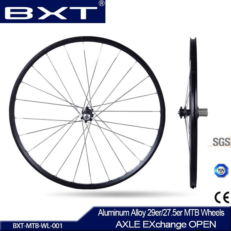 2016 chinois roues Essieu 142*12mm VTT Montagne Vélo 27.5/29er Six trous Disque De Frein CR 24 H 11 Vitesse Pas de carbone vélo roues